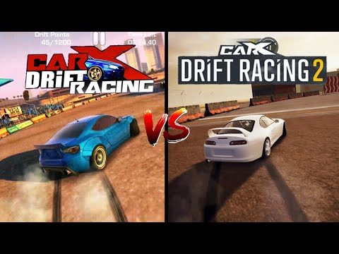 CarX Drift Racing Vs CarX Drift Racing 2  comparison. Which one's best?