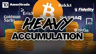 BTC In Heavy Accumulation. Institutions Buying! Are U?