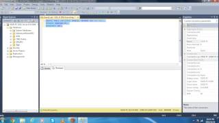 CREATE TABLE AND INSERT DATA USING QUERY IN SQL SERVER(DATABASE)