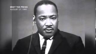 Martin Luther King Jr  Racism, A 'Hate Filled Cancer' Meet The Press August 13, 1967