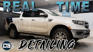 REAL TIME Detailing of a Brand New DIRTY Ford Ranger | Satisfying Car Detailing