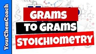 Stoichiometry Grams To Grams Using Mole Ratio