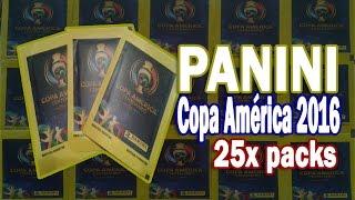 █▬█ █ ▀█▀ ⚽️ PANINI Copa América Centenario ⚽️ 25x packs
