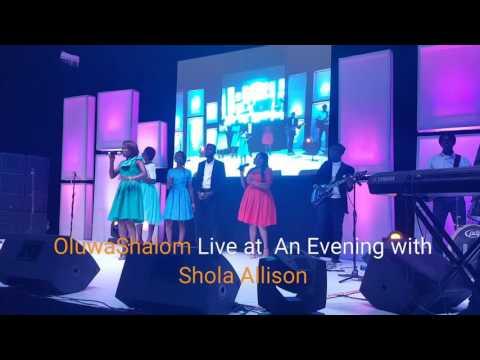 OluwaShalom Live on Stage at
