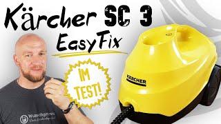 Kärcher Dampfreiniger SC 3 Easyfix Test ► Einfach mal abdampfen! ✅ Bei uns im Test! | Wunschgetreu