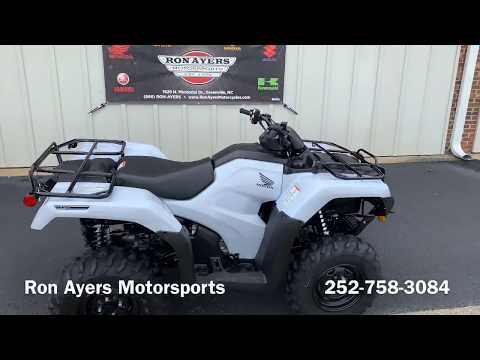2019 Honda FourTrax Rancher 4x4 DCT IRS EPS in Greenville, North Carolina - Video 1