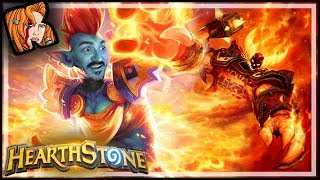 My Opponent Is Seeing Double… RAGNAROS - Rastakhan's Rumble Hearthstone
