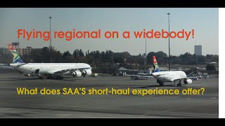 South African Airways SA40 - Johannesburg O.R Tambo to Victoria Falls - Airbus A330-200 - ECONOMY