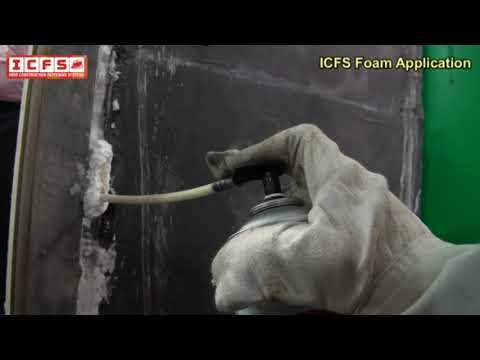 ICFS Polyurethane PU Expansion Foam Spray 750 ml