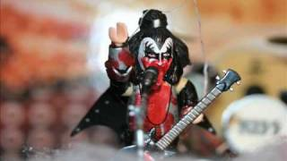 Animated Gene Simmons Blood Spitting