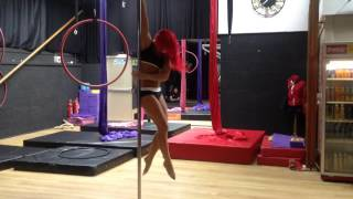 Jess Leanne Norris - Pole Routine to 'Good for You' Selena Gomez