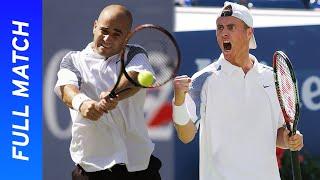 Andre Agassi vs Lleyton Hewitt Full Match | US Open 2002 Semifinal