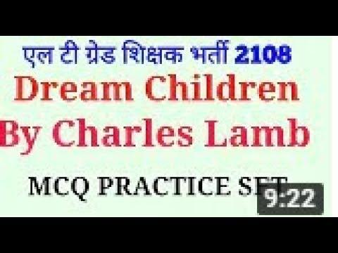dream children by lamb