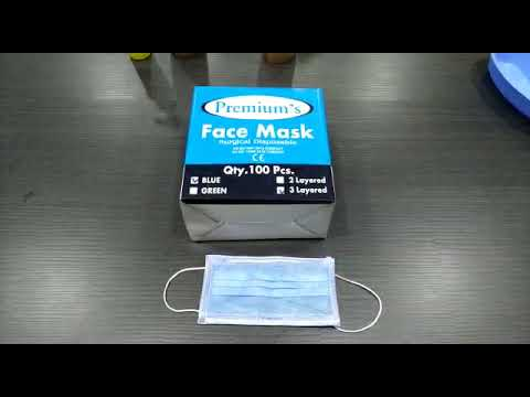 Premiums Face Mask 2 Layer Loop