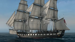 Naval Action USS Constitution battles a ST Pavel