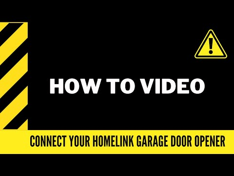 Connect Your Toyota to a Garage Door Opener using the HomeLink - Ontario Toyota Dealer