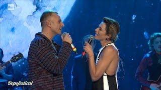 """DopoFestival 2019 - Ghemon con Anna Foglietta cantano """"Anna verrà"""""""