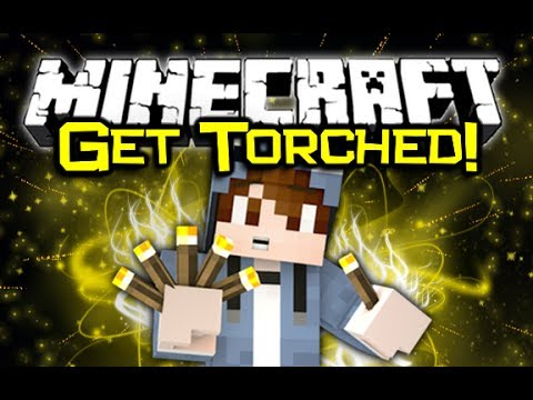 Minecraft TORCHED MOD Spotlight! - Rockets & Guns! (Minecraft Mod Showcase)