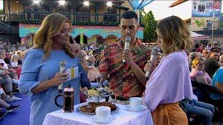 Nicole Falciani Agerar Tolk Till Italienska Mahmood Och Reder Ut Vad En Svens…   Sommarkrysset (TV4)