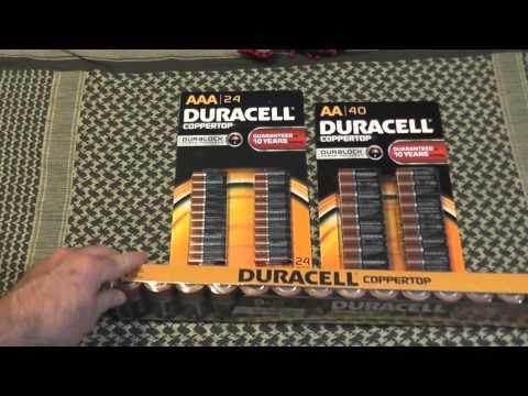 Cool Prepper Find !! The New Duracell Duralock Batteries