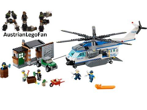 Vidéo LEGO City 60046 : L'intervention de l'hélicoptère en forêt