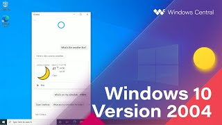 Windows 10 May 2020 Update - Official Release Demo (Version 2004)