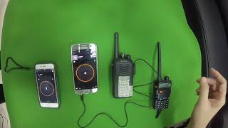 Zello gateway cable for Kenwood radio
