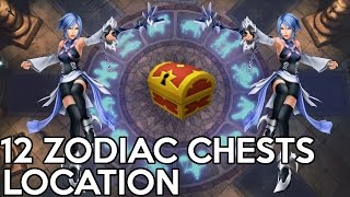 12 Zodiac Chests Location/ Secret Mirror- Kingdom Hearts Birth By Sleep 0.2 - A Fragmentary Passage
