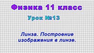 11 класс Урок 13