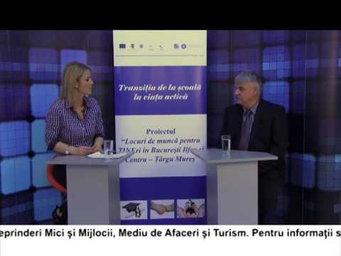 (VIDEO) Locuri de muncă pentru TINEri în București Ilfov și Târgu Mureș – TOROK CSABO (E9)
