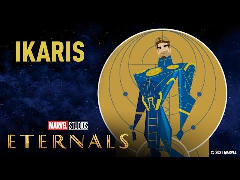 Meet the Eternals: Ikaris