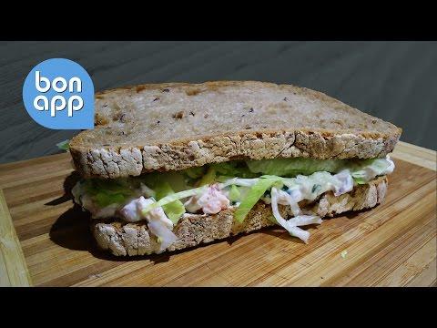 Сбалансированный диетический сэндвич - Оригинальные рецепты
