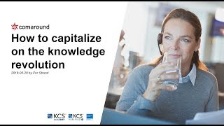 [English] Webinar: How to capitalize on the knowledge revolution