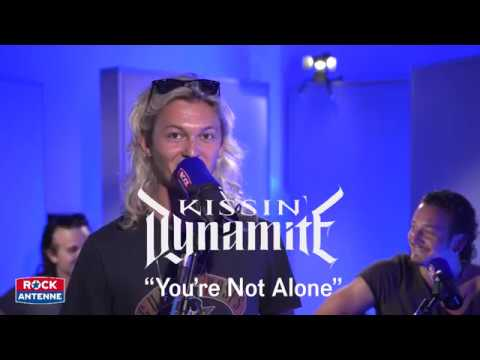 Kissin' Dynamite - YOU'RE NOT ALONE - Unplugged in den ROCK ANTENNE STUDIOS