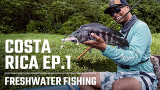 Costa Rica with Cobi Pellerito & Oliver Ngy - Episode 1 - Freshwater Fishing