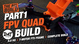 FPV Quad complete build - DRONE, QUADCOPTER BUILD - how to build a fpv drone