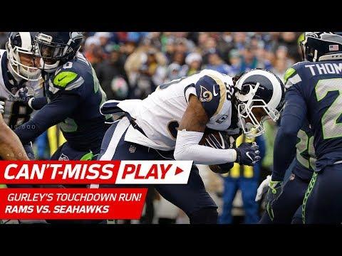 Pharoh Cooper's Huge Punt Return Sets Up Todd Gurley's TD Blast! | Can't-Miss Play | NFL Wk 15