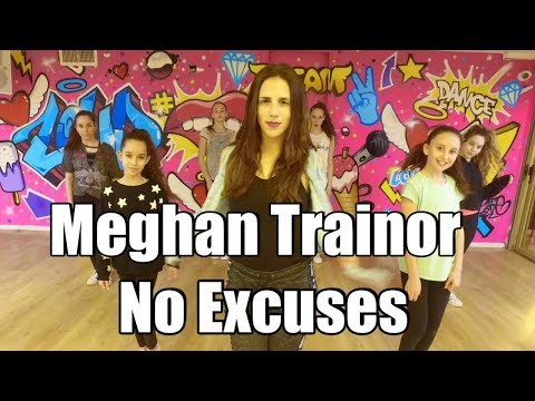 Meghan Trainor - No Excuses  Dance + TUTORIAL Choreography by: Shaked David