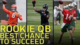 Which Rookie QB is Set Up with the Best Chance to Succeed   NFL Network