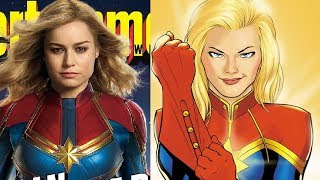 Brie Larson As Captain Marvel First Look - Thoughts