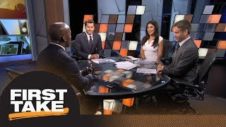Should the Colts be playing Andrew Luck in the preseason? | First Take | ESPN
