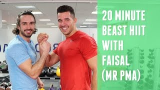 20 Minute Fat Burner With Faisal (Mr PMA) | The Body Coach by The Body Coach TV
