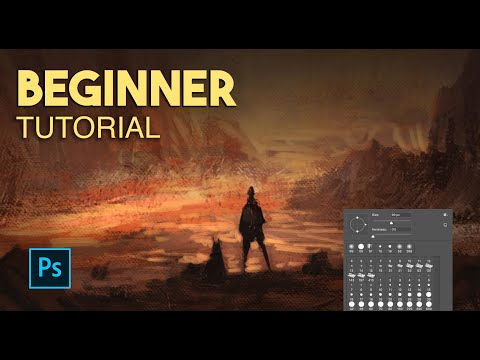 Learn to Paint in 5 minutes   Digital Painting Photoshop Tutorial Beginner