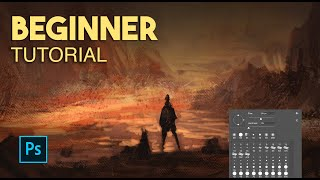 Learn To Paint In 5 Minutes | Digital Painting Photoshop Tutorial Beginner