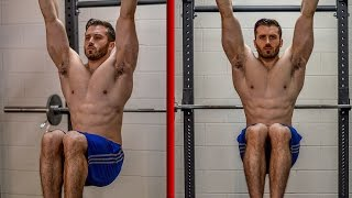 How to Perform the Hanging Knee Raise / Leg Lift
