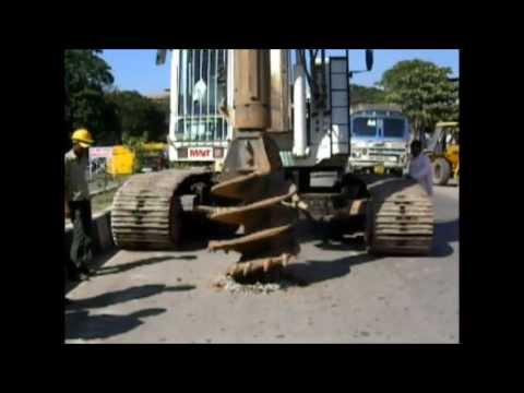 Rock Auger For Piling(FLat Edge)