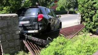 Krosno wypadek na ul. Okrzei