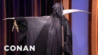 The Grim Reaper Stops By CONAN  - CONAN on TBS