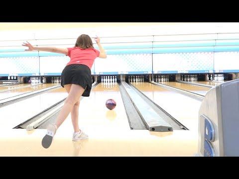 素人女子のボウリング練習風景1(Bowling Practice)2019/6