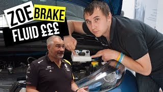 £250 for a Renault Zoe Brake Fluid Service WHY Explained..